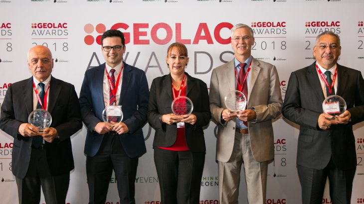GEOLAC 2019 award winners