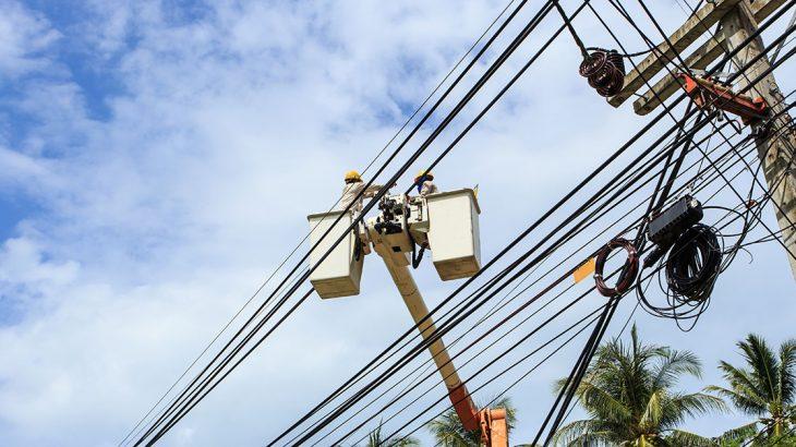 Post-hurricane power restoration