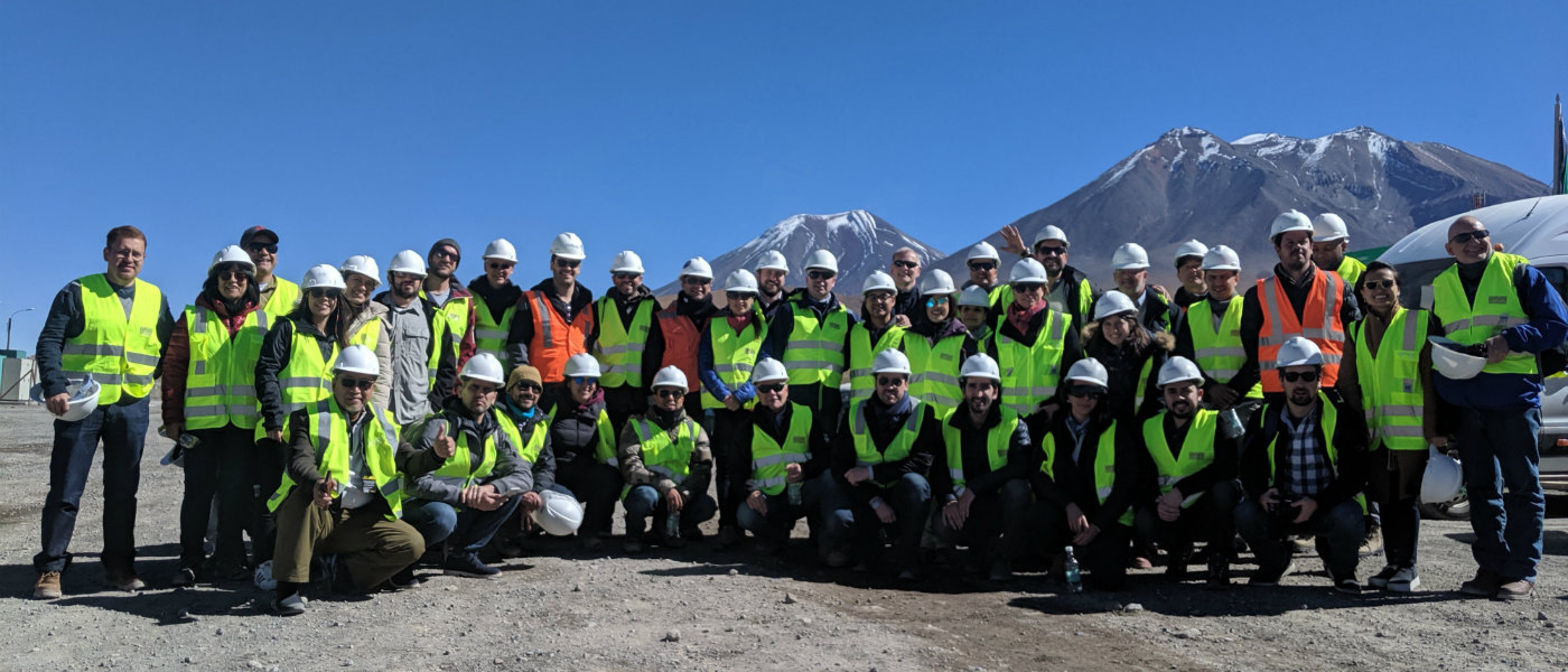 Cerro Pabellón Site Visit - Chile