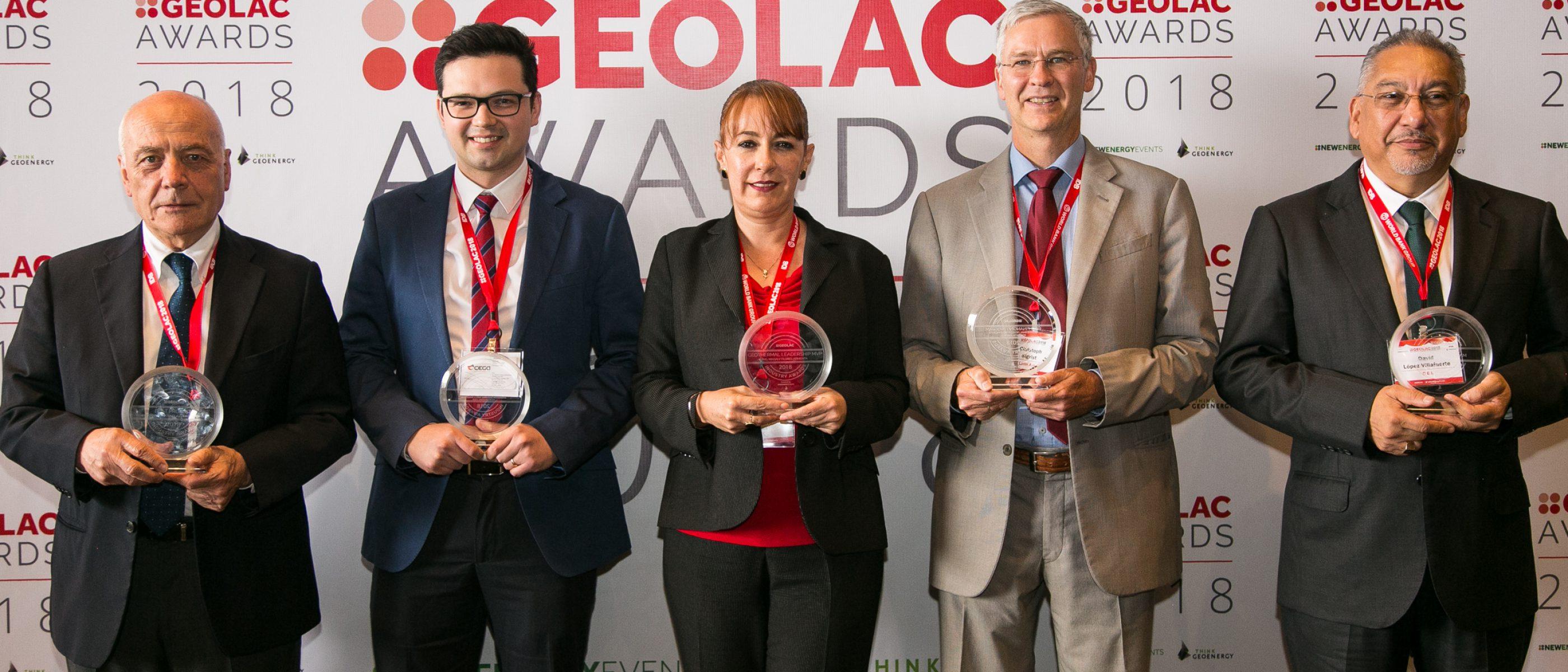 GEOLAC 2019 award winners