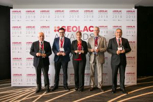 GEOLAC Award Winners