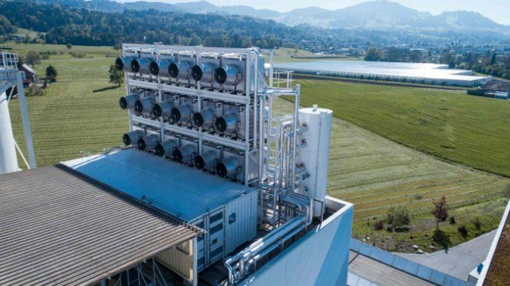 Carbon Capture Plant | Photo: Climeworks
