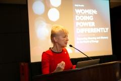 Kelly Tomblin, INTREN at the Women in Energy Breakfast