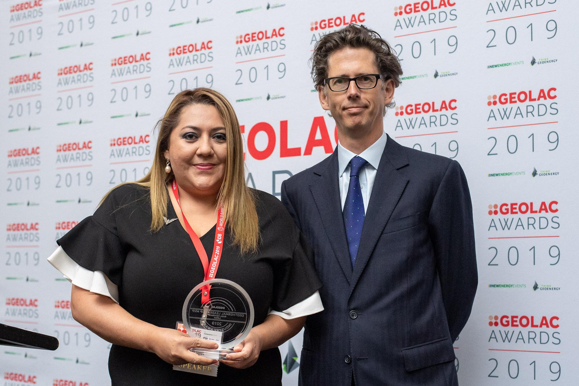 Geothermal Leadership MVP: Rosa Escobar, La Geo